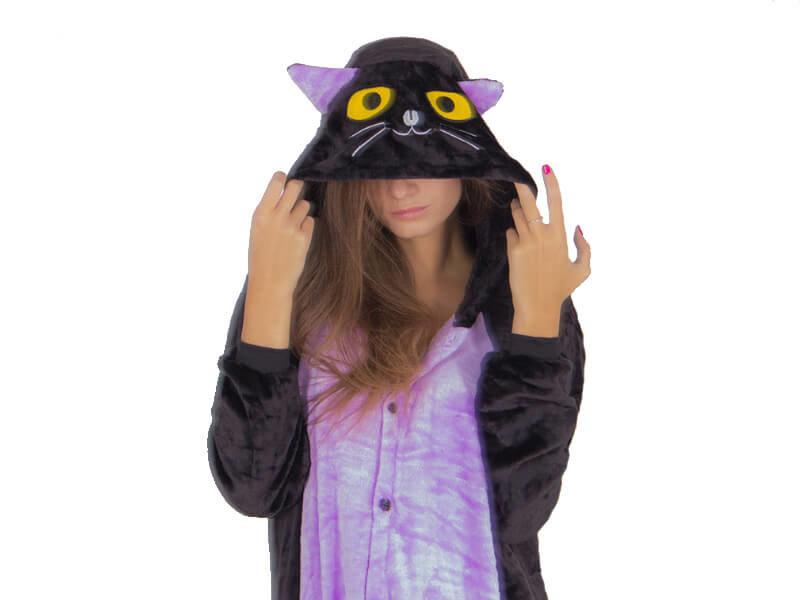 Кигуруми Ночной кот купить за 2 190 руб. в Москве с доставкой 4d4fe6f71ac0e