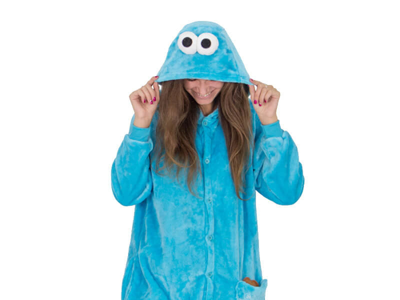 Кигуруми Коржик «cookie monster» - купить в интернет-магазине kgrm.ru 7df2201c9dba5